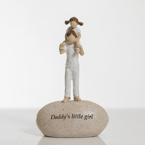 "8"" Daddy's Little Girl - Pebble Collection"