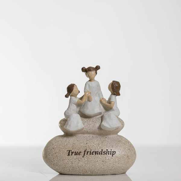 "6"" True Friendship - Pebble Collection"