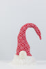 "16"" Red/White Santa Snowflakes Hat  - Peppermint Collection"