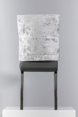 "18"" x 20"" Silver Chair Cover"