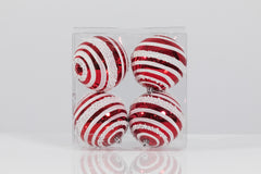 Set of 4 Swirl Balls 3