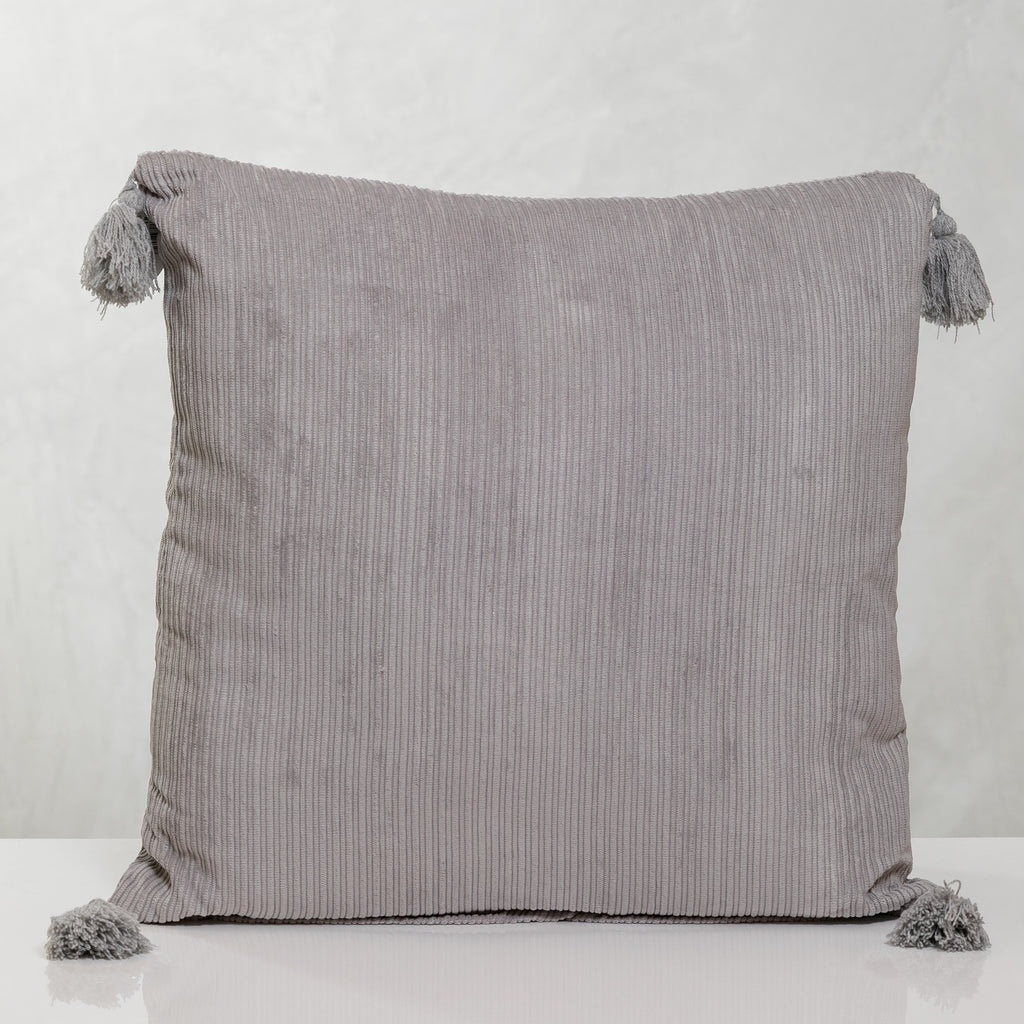 "18""x18"" Corduroy Pillow - Gray"