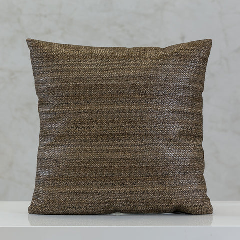 "16.5"" x 16.5"" Urbane Solid Pillow - Lt. Coffee."
