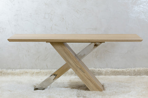"71"" Brooklyn Dinning Table Natural"