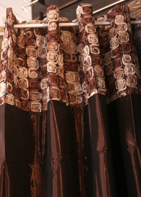 Majestic Brown Curtain - Casa Febus - Home • Design