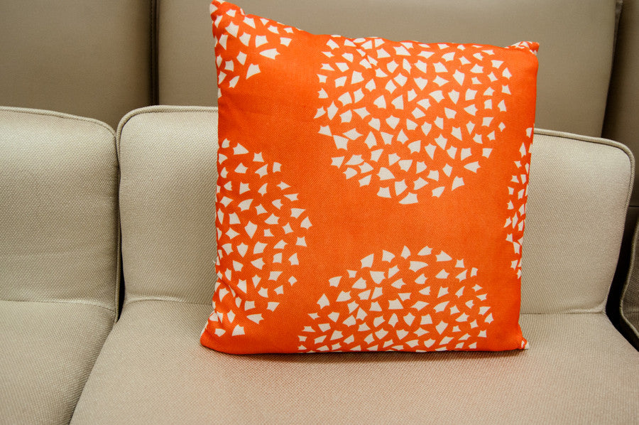 Powder Cushion - Orange - Casa Febus - Home • Design