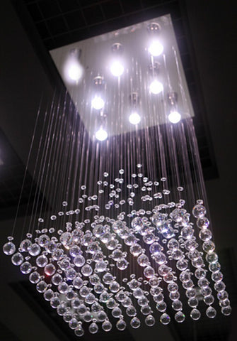 "Diamond Rain Pendant Lamp 16""D - Casa Febus - Home • Design"
