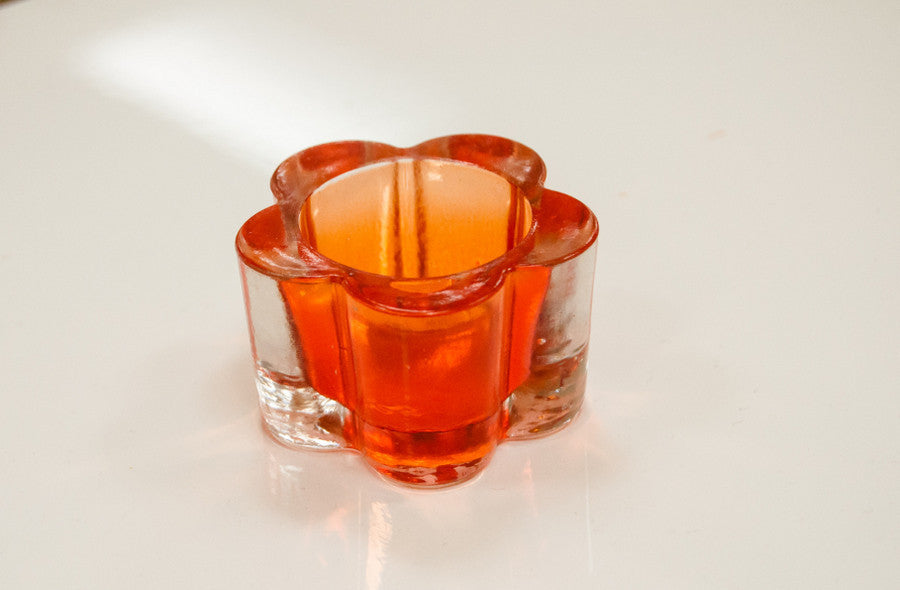Fiesta Trebol Vase-Orange - Casa Febus - Home • Design
