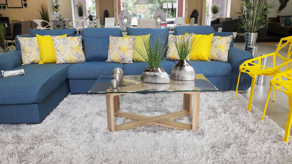 Adelaine Sofa Set - Blue - Casa Febus - Home • Design