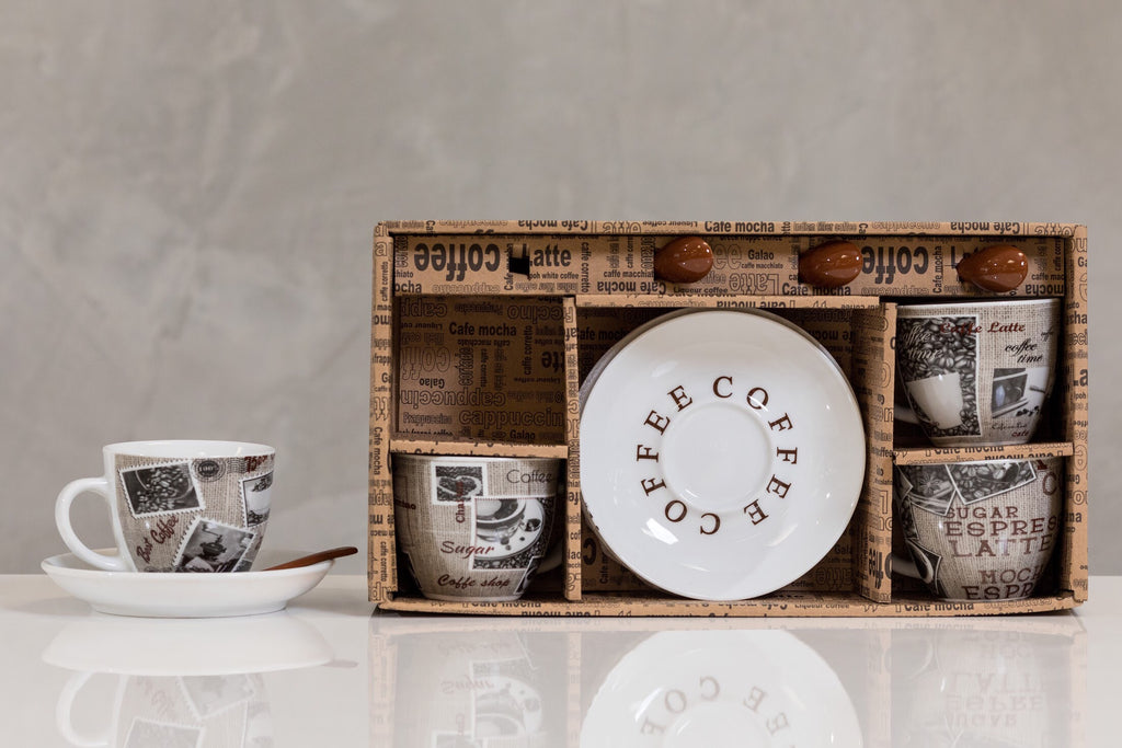 3oz Coffee Time Set/4 - Premium Coffee
