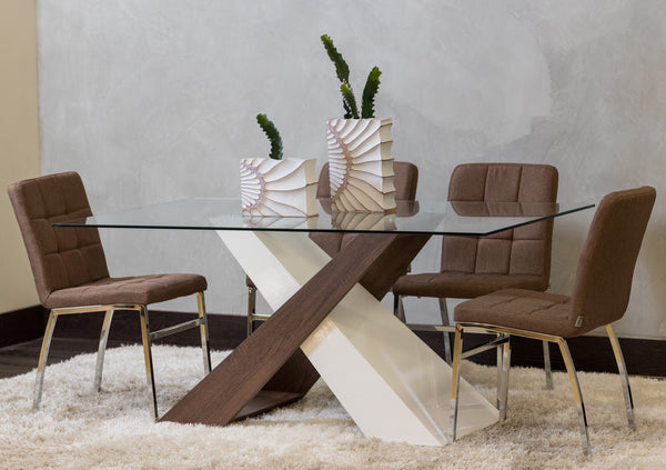 "63"" Deux Dining Table - Gigi Collection"
