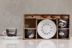 3oz Coffee Time Set/4 - Dark Roast