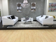 Mia Sofa Set - White (2 butacas + sofa)