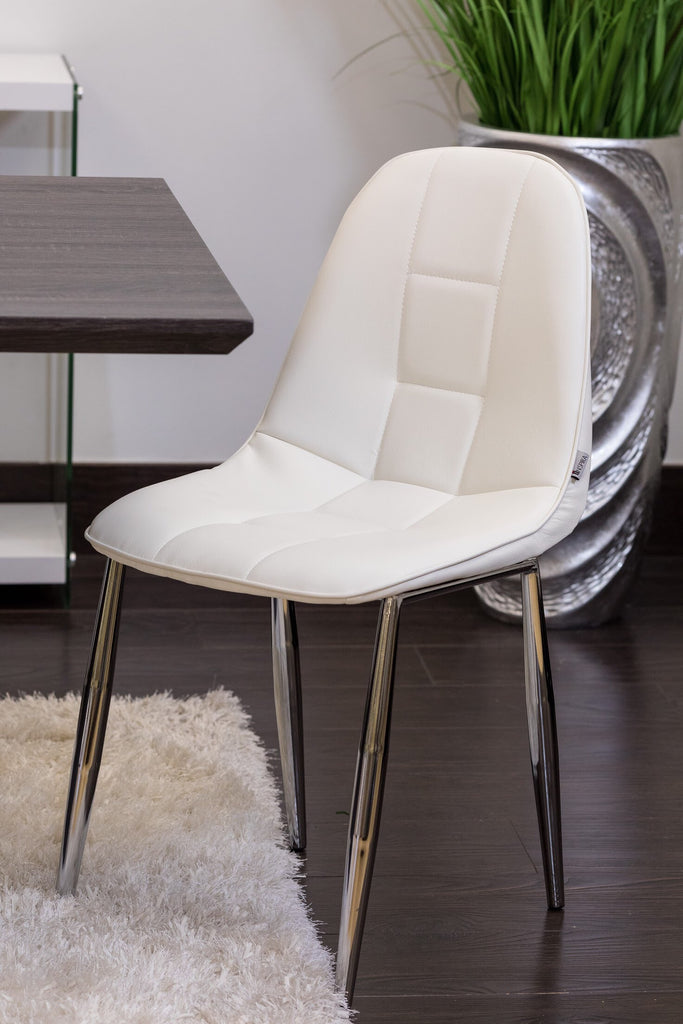 "33"" Bea Chair -  White - Casa Febus - Home • Design"