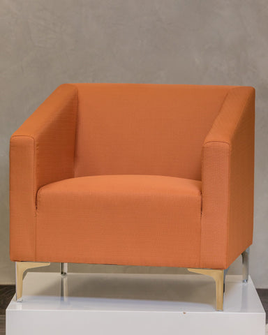 Caitlyn Armchair - Toasted Orange