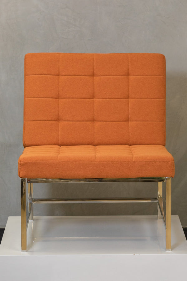 "34"" x 28"" Reflections Lounge Chair - Orange"