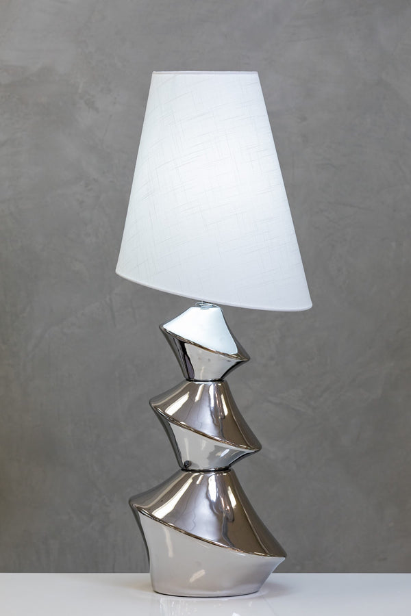 "31"" Nouveau Table Lamp Too - Silver"