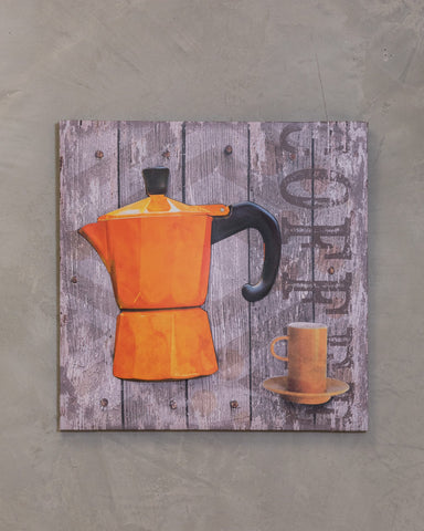 "16"" x 16"" Coffee Time Wall Decor - French Press"