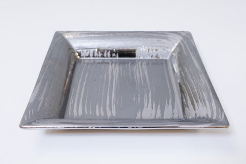 "10"" Metalle Square Plate"
