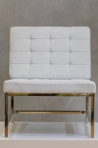 "34"" x 28"" Reflections Lounge Chair - White"