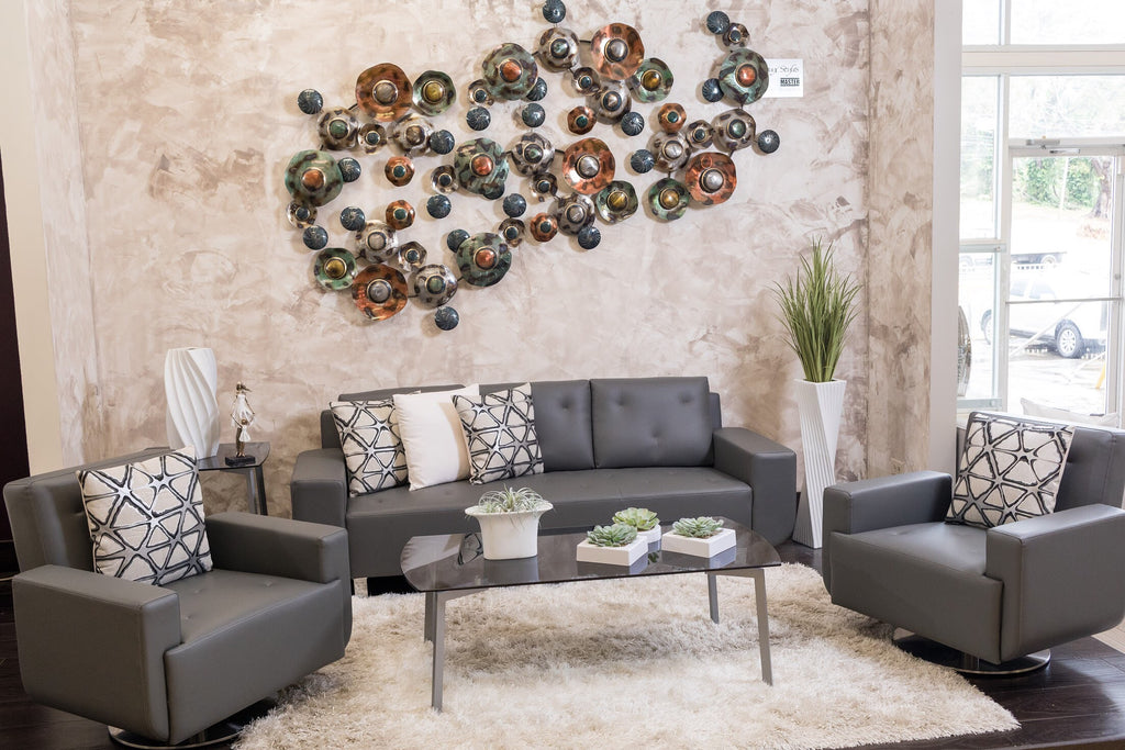 "38"" Metal Wall Décor - Connections"