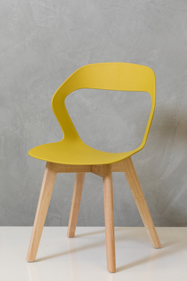 "33"" Moderni Chair - Mustard Yellow"