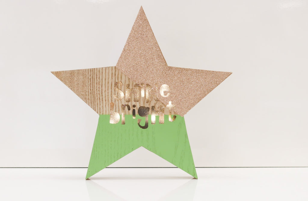 "12"" Shine Bright Star Light Box - Battery Operated - Casa Febus - Home • Design"