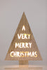 "16""  Light Box by Liz - Very Merry - LED Battery Operated"