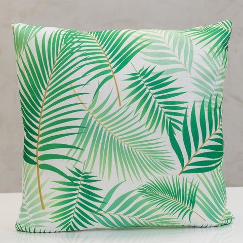 "18"" x 18"" Naturale Palms Pillow"