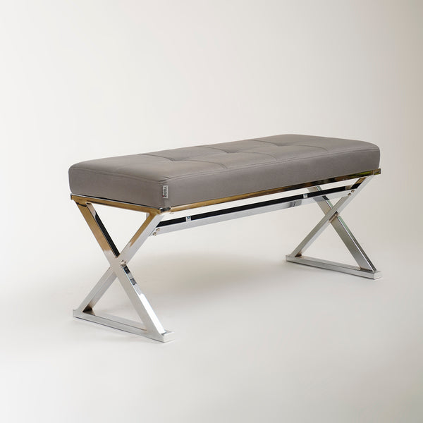 "39"" Reflections Bench-Charcoal Gray"