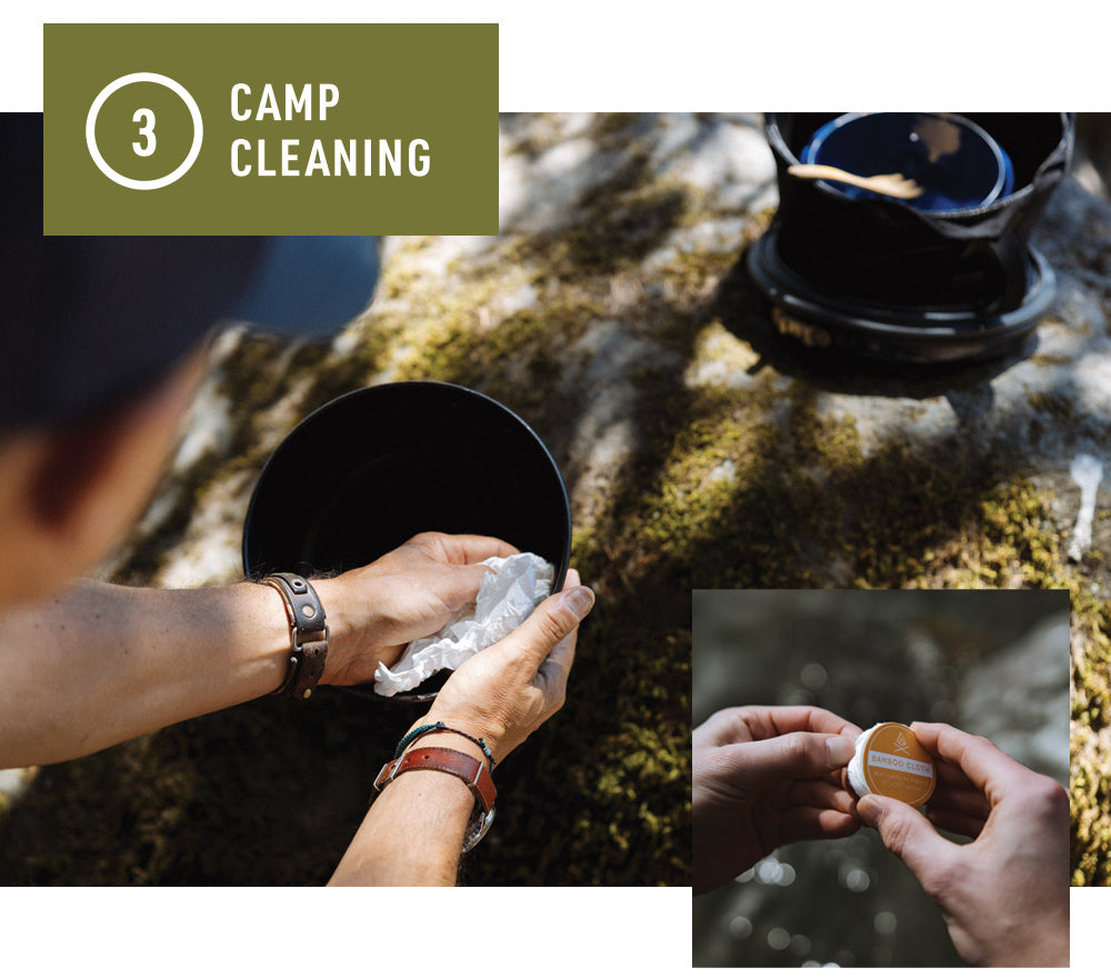 Bamboo Cloth - Camp Cleaning