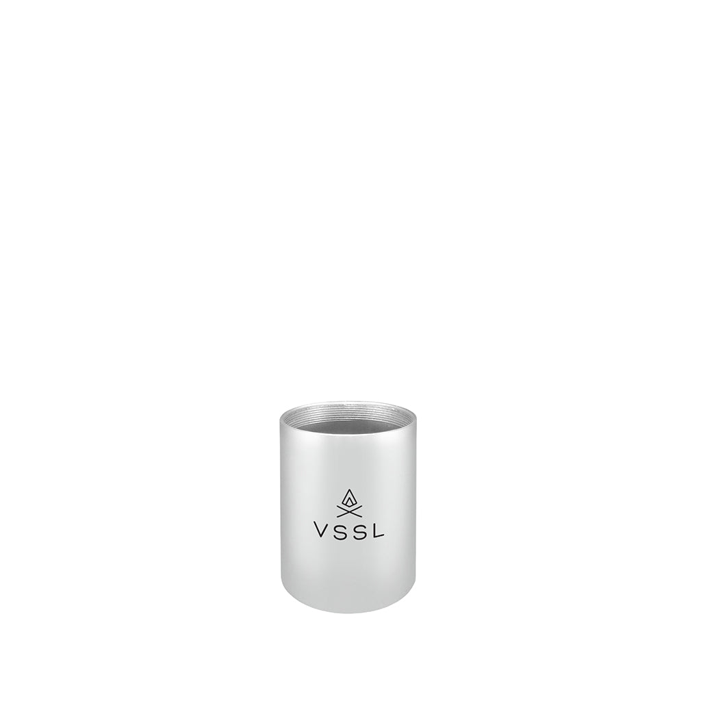 VSSL Mini Cache SILVER - Cylinder ONLY, no End Caps - VSSL Direct