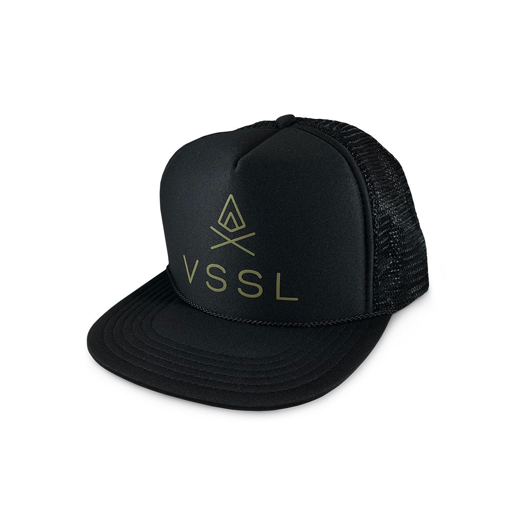 VSSL Trucker Hat - Black