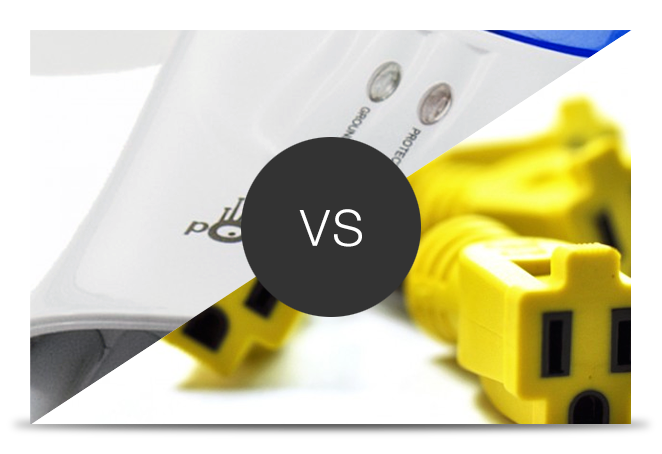Surge Protectors vs. Outlet Multipiters