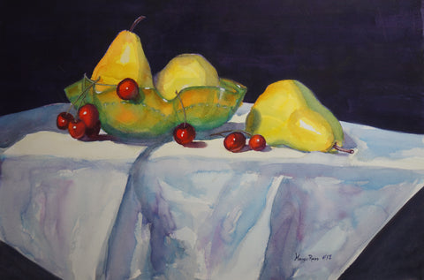 "Rapp, Maggie - ""Antique Dish and Fruit"""