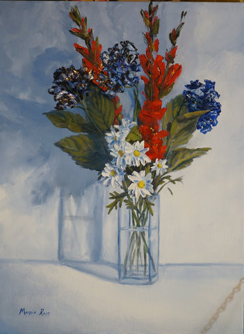 "Rapp, Maggie - ""Arrangement in Red, White & Blue"""