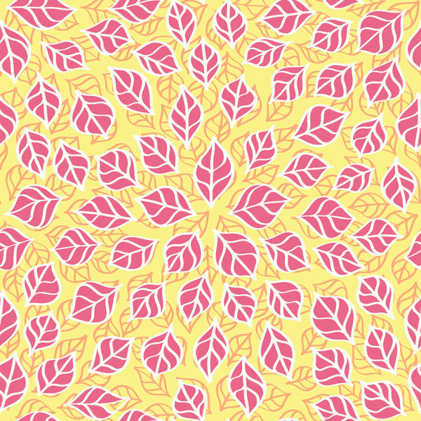 {Illustrator Stuff} Pattern Bay Leaves Sketch Repeating Pattern