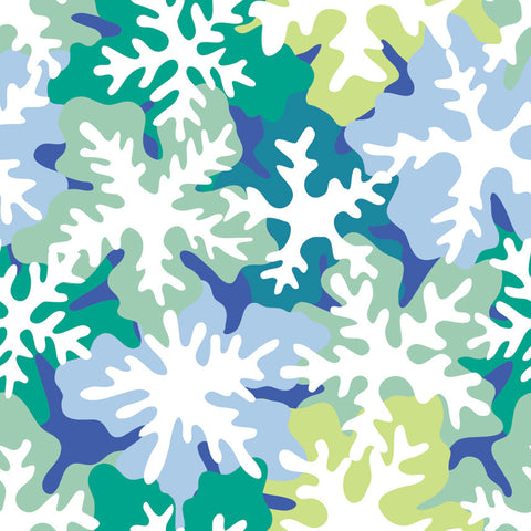 Flower Camo Repeating Pattern