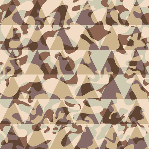 {Illustrator Stuff} Pattern Bay Geometric Camo Repeating Pattern