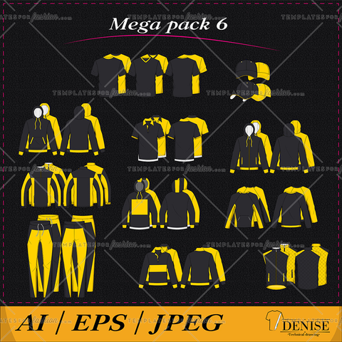 Mega pack of clothes 6
