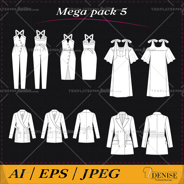 Mega pack of clothes 5