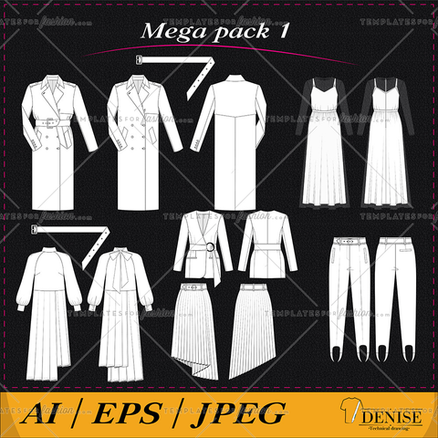 Mega pack of clothes 1