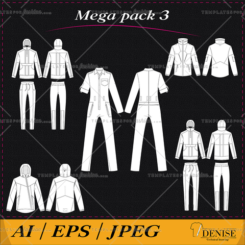 Mega pack of clothes 3