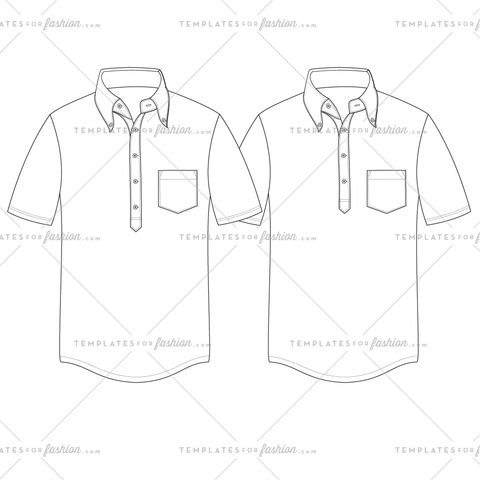 4 AND 5-BUTTON POPOVER FASHION FLAT VECTOR FILE