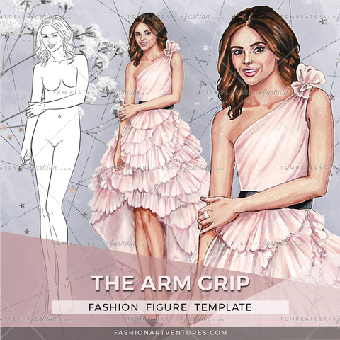 THE ARM GRIP PREMIUM FASHION CROQUI