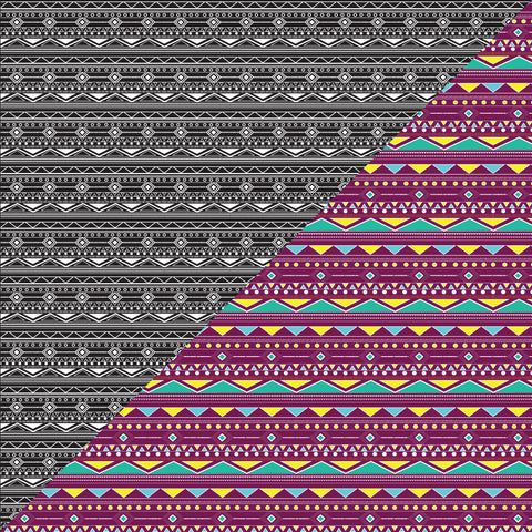 {Illustrator Stuff} Aztec Textile Repeating Pattern