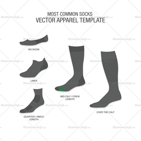 5 Most Common Socks Templates