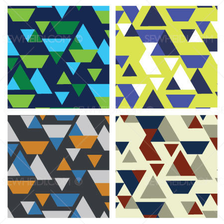 {Illustrator Stuff} Sew Heidi Half Broken Argyle Repeating Pattern