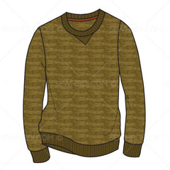 {Illustrator Stuff} Sew Heidi Men's Crew Neck & Henley Illustration