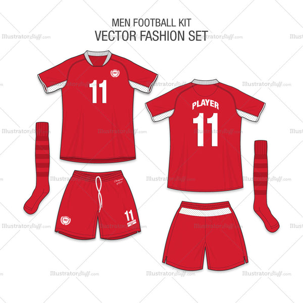 Men Football Kit Fashion Set